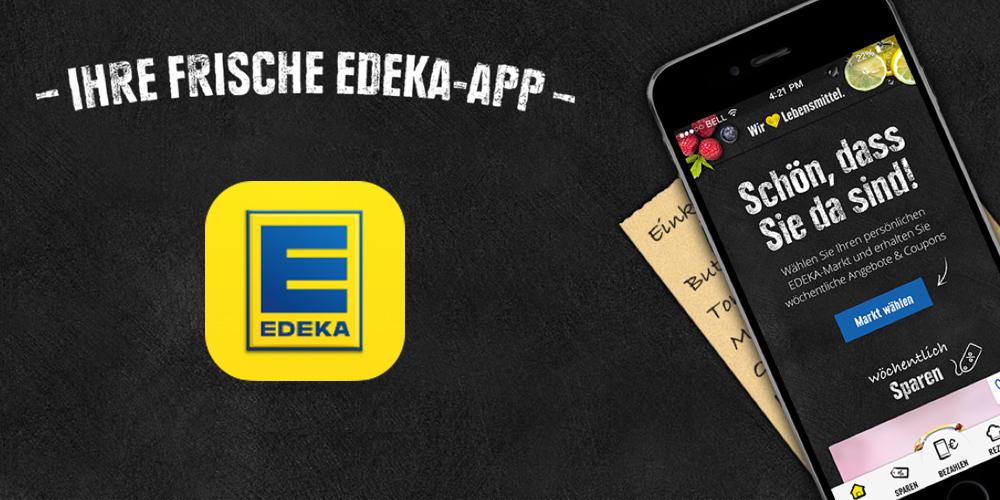 Bezahlen mit der EDEKA App