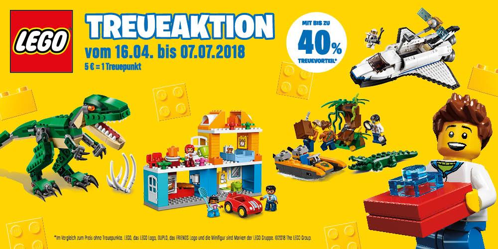 Bauklötze staunen mit unserer LEGO<sup>®</sup>-Treueaktion!