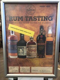 Rum Tasting !!!!
